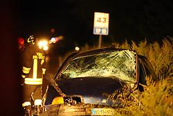 INCIDENTE MORTALE MARCO BARBONI SCONTRO FRONTALE TRA AUTO SULLA SP15 A LAGOSANTO