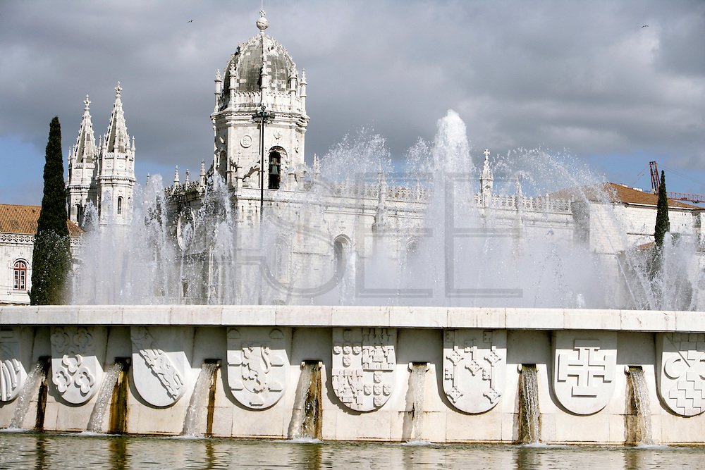 "The Hyeronimous Monastery (Mosteiro dos Jeronimos) is a UNESCO world heritage site. Its late-gothic style, know as ""manuelino"" depicts nautical motives and is one of the main landmarks of the town."