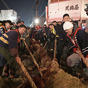 Japan: Tug of war of Omagari, Akita prefecture