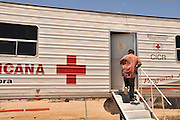 Programa de Ayuda Humanitaria a Migrantes in conjunction with the International Red Cross provides humanitarian services to migrants in Altar, Sonora, Mexico, about 60 miles south of the U.S./Mexico border at Arizona.