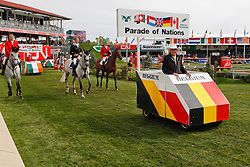 Guerdat Philippe (SUI) chef d'equipe Belgium<br />