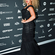 Tallia Storm, Arrivers at AIM Independent Music Awards at the Roundhouse on 3 September 2019, Camden Town, London, UK.