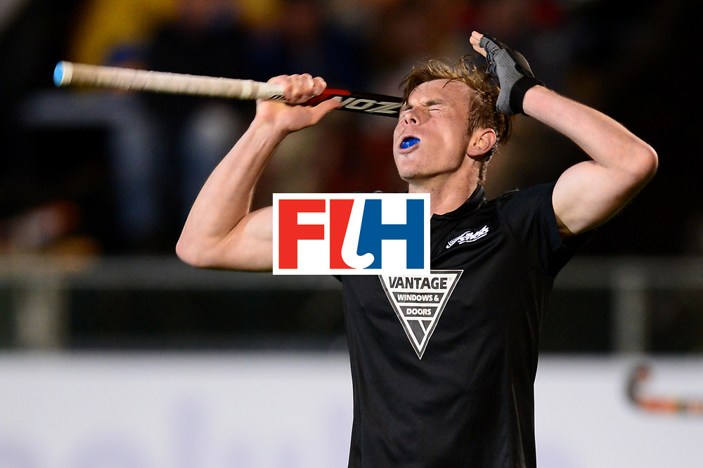 JOHANNESBURG, SOUTH AFRICA - JULY 22: Phillips Hayden of New Zealand during day 8 of the FIH Hockey World League Men's Semi Finals 5th-6th place match between New Zealand and Ireland at Wits University on July 22, 2017 in Johannesburg, South Africa. (Photo by Getty Images/Getty Images)