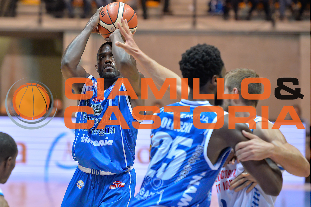 darius Johnson-Odon<br /> Red October Cantu' vs Banco di Sardegna Sassari<br /> Basket Serie A 2016/2017<br /> Milano 23/10/2016<br /> Foto Ciamillo-Castoria