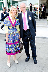 LORD & LADY HOWARD at the Investec Ladies Day at Epsom Racecourse, Surrey on 4th June 2010.