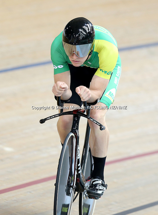 in the Skoda Elite & U19 Track National Championships at the Avantidrome, Cambridge, New Zealand, Thursday, January 29, 2015. Credit:NINZ / Dianne Manson