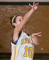 Girls varsity basketball Bishop Brady versus Kearsarge  December 19, 2011