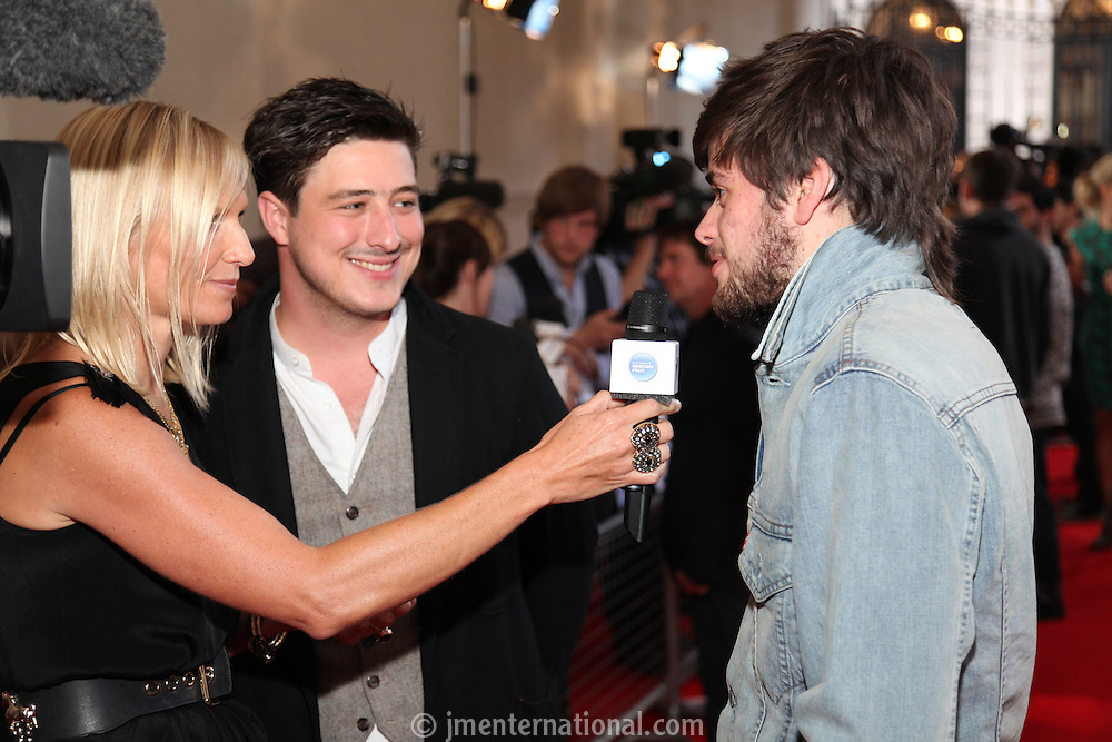 Jo Whiley and Mumford & Sons