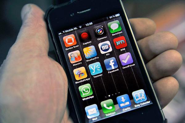 Nederland, Nijmegen, 14-2-2012De i-phone en i-pad hebben icoontjes van apps op het startscherm.Foto: Flip Franssen/Hollandse Hoogte