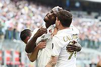 esultanza gol Cristian Zapata goal celebration<br /> Milano 15-04-2017, Stadio Giuseppe Meazza, Football Calcio 2016/2017 Serie A, Inter - Milan, Foto Image Sport/Insidefoto