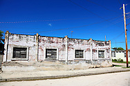 Building in Campechuela, Granma, Cuba.
