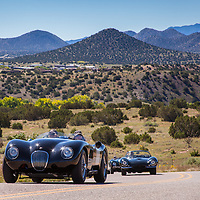 The Cerrillos to Santa Fe leg of the Mountain Tour, part of the events for the 2013 Santa Fe Concorso.