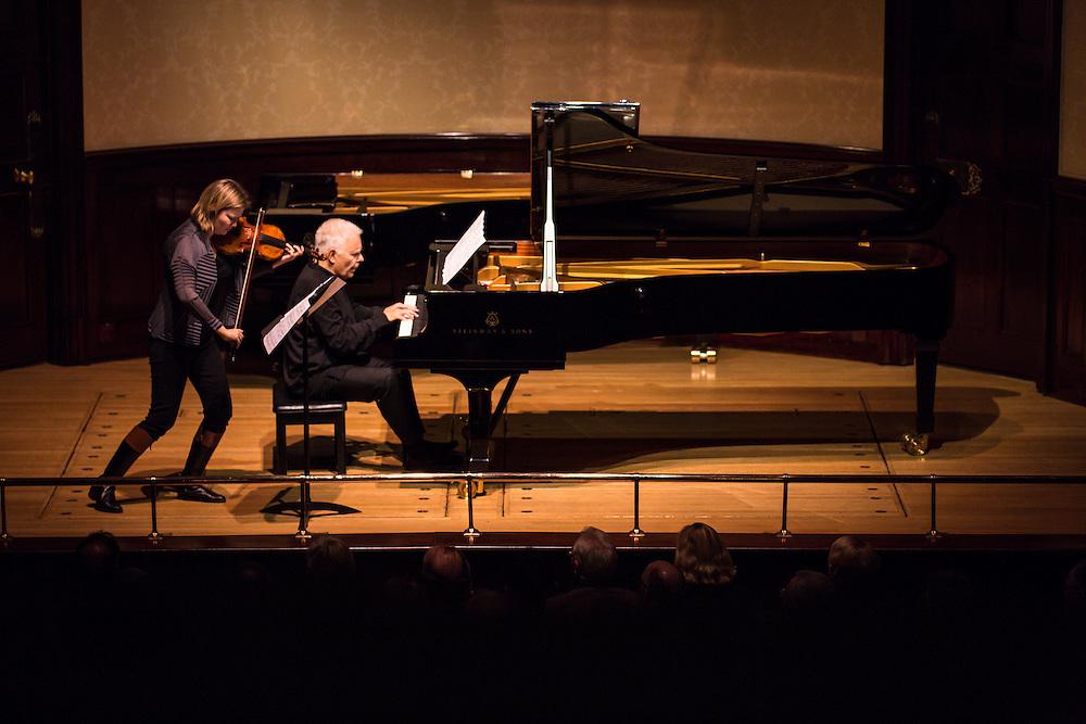Alina Ibragimova (violin) join Stephen Kovacevich to celebrate his 75th birthday at Wigmore Hall