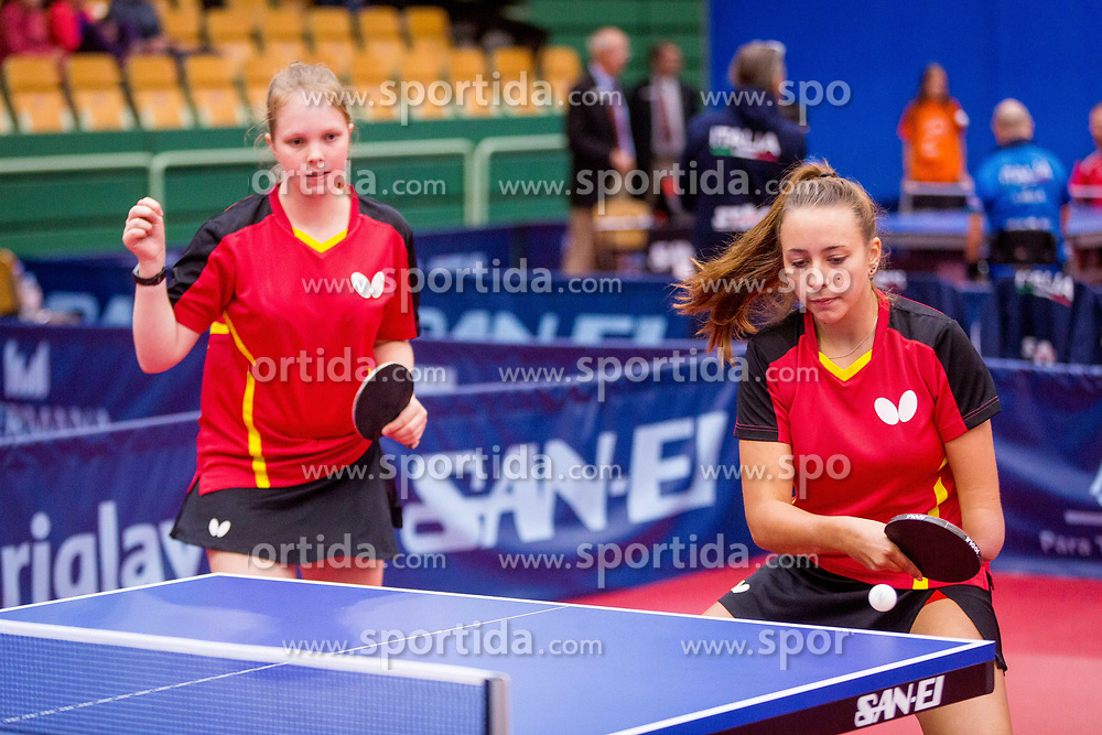 GERMANY (REEG Marlene and KRAMM Lena) during day 4 of 15th EPINT tournament - European Table Tennis Championships for the Disabled 2017, at Arena Tri Lilije, Lasko, Slovenia, on October 1, 2017. Photo by Ziga Zupan / Sportida