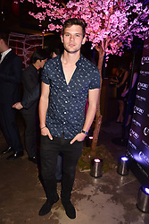 Jeremy Irvine at the launch of Nobu Hotel London Shoreditch,10-50 Willow Street, London, England. 15 May 2018.