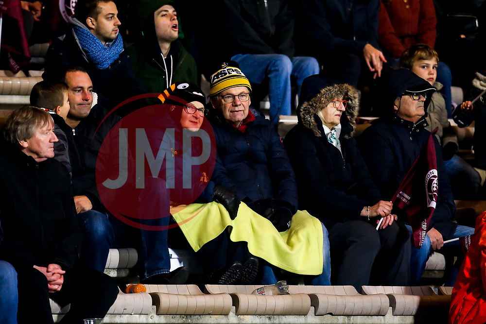 Wasps fans at Bordeaux-Begles - Mandatory by-line: Robbie Stephenson/JMP - 16/11/2019 - RUGBY - Stade Jacques Chaban-Delmas - Bordeaux,  - Bordeaux-Begles v Wasps - European Rugby Challenge Cup