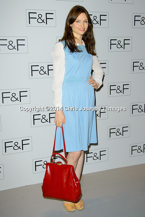 Sophie Ellis Bextor attends F+F AW 14 Fashion Show. Somerset House, London, United Kingdom. Thursday, 3rd April 2014. Picture by Chris Joseph / i-Images