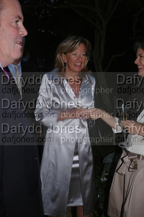 Princess Chantal of Hanover. Cartier dinner after thecharity preview of the Chelsea Flower show. Chelsea Physic Garden. 23 May 2005. ONE TIME USE ONLY - DO NOT ARCHIVE  © Copyright Photograph by Dafydd Jones 66 Stockwell Park Rd. London SW9 0DA Tel 020 7733 0108 www.dafjones.com