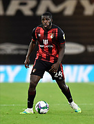 Nnamdi Ofoborh (24) of AFC Bournemouth during the EFL Cup match between Bournemouth and Crystal Palace at the Vitality Stadium, Bournemouth, England on 15 September 2020.