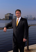 Achim Steiner - director of the united nations enviorment programme poses for portrait near ExCel Centre  in London, UK on  29th March 2012... Ki Price.