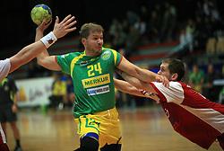 Bostjan Ficko of Merkur at handball game RD Slovan vs RD Merkur  in 7th round of MIK First league, on October 24, 2008 in Ljubljana, Slovenia. (Photo by Vid Ponikvar / Sportal Images)