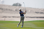 Kalle Samooja (FIN) on the 9th during Round 3 of the Oman Open 2020 at the Al Mouj Golf Club, Muscat, Oman . 29/02/2020<br /> Picture: Golffile | Thos Caffrey<br /> <br /> <br /> All photo usage must carry mandatory copyright credit (© Golffile | Thos Caffrey)