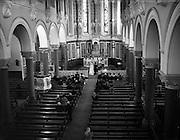 29/01/1953<br /> 01/29/1953<br /> 29 January 1953<br /> Wedding of Tony Farrell, A.A.,  C.C.A., Plessy Ltd., Home Farm Road, and Miss Leonie Marie, Ranelagh at the Church of the Holy Name, Beechwood Avenue, Ranelagh, Dublin.