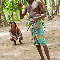 Alberto Carrera, Vedda people at Vedda Village, Sri Lanka, Asia<br />