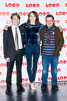 Jon Rennie, Charlotte Ritchie and Jamie Adams, Benny & Jolene - World Premiere, BFI Southbank, LONDON, 24 January 2014, Photo by Raimondas Kazenas