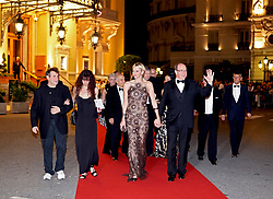 Sept. 30, 2012 - Monte Carlo, Monaco - Johnny Clegg with his wife, Princesse Charlène, Prince Albert de Monaco - GALA, SOUTH AFRICA NIGHT 'IN MONACO (Credit Image: © Visual/ZUMAPRESS.com)