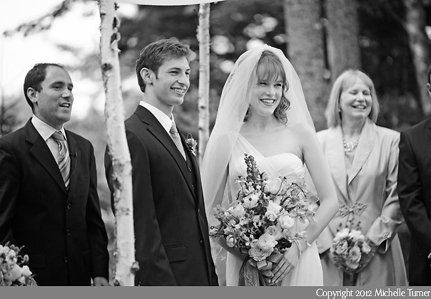 Coastal Maine Botanical Gardens Wedding.  Images by Maine Wedding Photographer Michelle Turner.