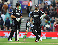 Cricket - 2019 ICC Cricket World Cup - Group Stage: Bangladesh vs. New Zealand<br /> <br /> Ross Taylor (left) and Kane Williamson of NZ wait for the decision on the stumping of Williamson, at Kia Oval.<br /> <br /> COLORSPORT/ANDREW COWIE