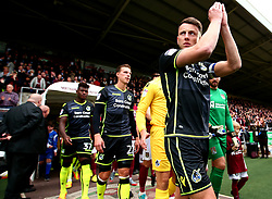 Ollie Clarke of Bristol Rovers leads his side out at Northampton Town - Mandatory by-line: Robbie Stephenson/JMP - 07/10/2017 - FOOTBALL - Sixfields Stadium - Northampton, England - Northampton Town v Bristol Rovers - Sky Bet League One