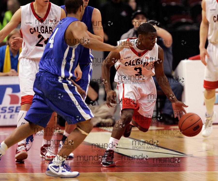 CIS Basketball Champioships-Ottawa, March 20, 2010, Calgary Dinos