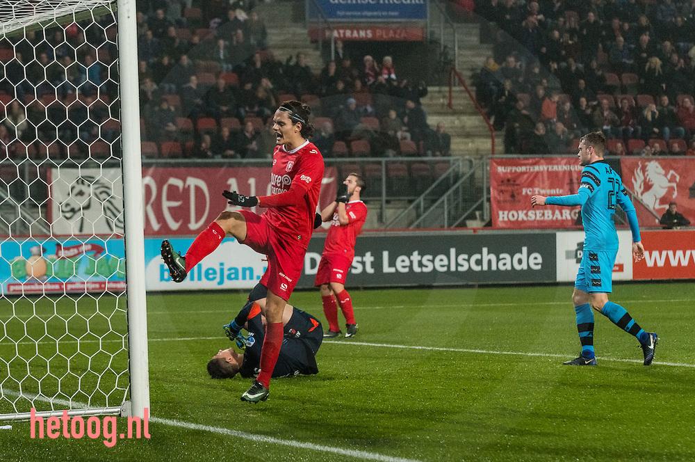 Nederland, Enschede, Grolsch Veste 20dec2016 eredivisie wedstrijd FCTwente-AZ67