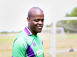 09 April 2016. Hammond, Louisiana.<br /> South Tangi Youth Soccer Association (STYSA), Chappapeela Sports Complex, 30th Annual Strawberry Cup,  <br /> New Orleans Jesters Youth Academy coach Thando Ngwane. <br /> Photo©; Charlie Varley/varleypix.com