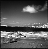 Rocks III, Hele Bay, North Devon (Infrared Film) 2011