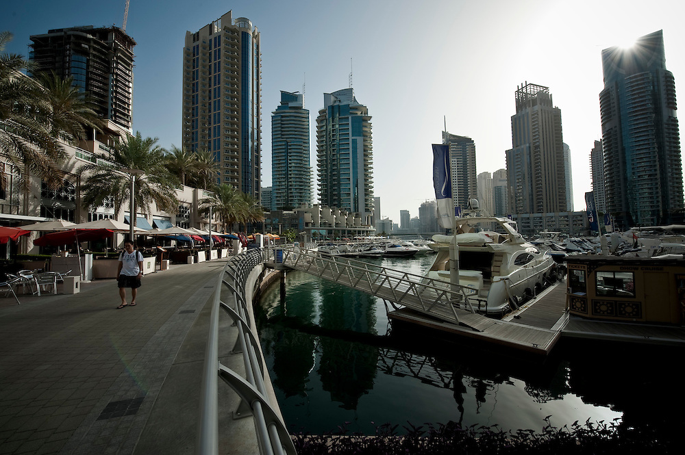Dubai Marina, Dubai, UAE Archive of images of Dubai by Dubai photographer Siddharth Siva