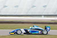 #23 Thomas MAXWELL (AUS)  SWR  Tatuus-Cosworth  BRDC British F3 Championship at Rockingham, Corby, Northamptonshire, United Kingdom. April 30 2016. World Copyright Peter Taylor/PSP.