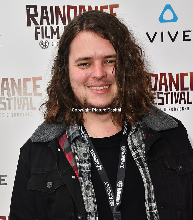 Josh Farrell - The Power of Max Nominated attends the Raindance Film Festival - VR Awards, London, UK. 6 October 2018.
