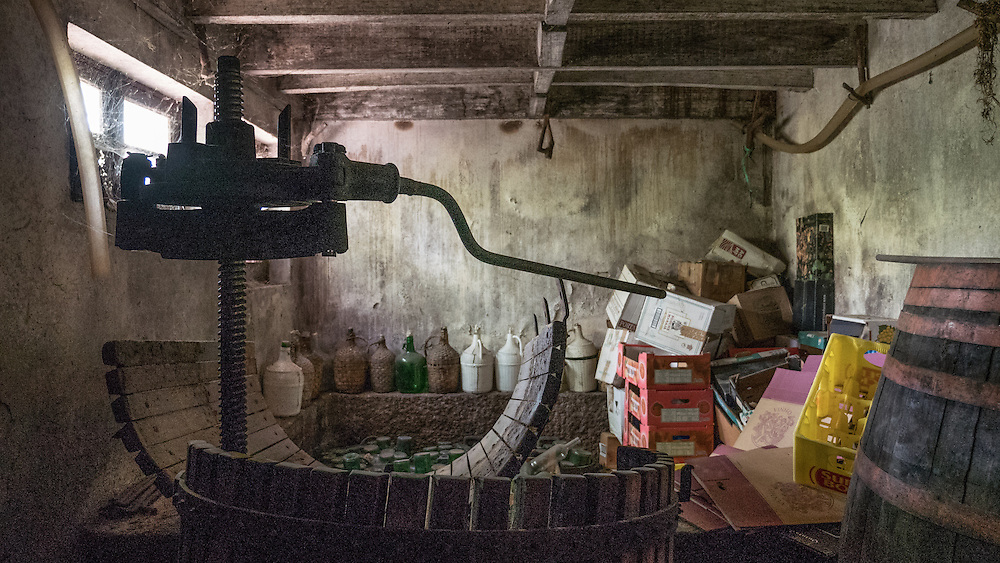 Winemaking (the hardcore way) in Portugal.