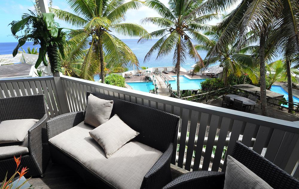 Matavai Resort, Pacific Mission 2012, Alofi, Niue, Wednesday, July 25, 2012. Credit:SNPA / Ross Setford