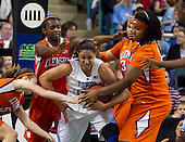 2012 ACC Women's Tourney North Carolina 90 - Clemson 51