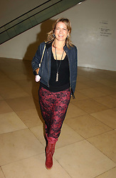 TV Presenter PENNY SMITH at a party to celebrate the publication of 'You Are Here' by Rory Bremner, Juhn Bird and John Fortune held at the National Portrait Gallery, St.Martin's Place, London on 1st November 2004.<br />