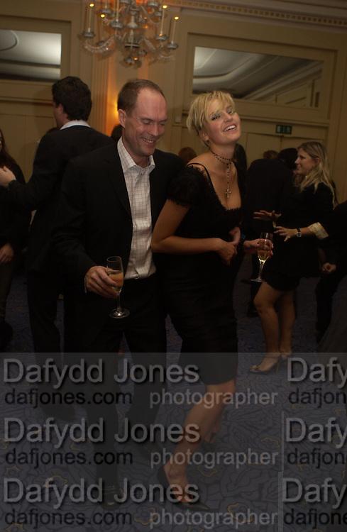 Mr. and Mrs. harry Blain. Rachel Whiteread, Haunch of Venison opening party. 28 October 2002. © Copyright Photograph by Dafydd Jones 66 Stockwell Park Rd. London SW9 0DA Tel 020 7733 0108 www.dafjones.com