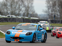 \2\ during Ginetta G40 Cup  as part of the British GT and BRDC British F3 Championship at Oulton Park, Little Budworth, Cheshire, United Kingdom. March 31 2018. World Copyright Peter Taylor/PSP.
