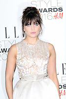 Daisy Lowe, ELLE Style Awards 2016, Millbank London UK, 23 February 2016, Photo by Richard Goldschmidt