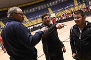 Romeo Meo Sacchetti<br /> Nazionale Italiana Maschile Senior - Allenamento con i ragazzi di Special Olympics<br /> FIP 2017<br /> Torino, 21/11/2017<br /> Foto M.Ceretti / Ciamillo-Castoria