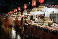 Beijing's Wangfujing nightly food market is a great place to try some of China's most exotic and downright bizarre snacks.