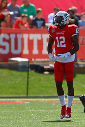 17 September 2016:  Christian Gibbs.  NCAA FCS Football game between Eastern Illinois Panthers and Illinois State Redbirds for the 105th Mid-America Classic on Family Dat at Hancock Stadium in Normal IL (Photo by Alan Look)